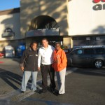 Jerald Pee Cavitt, Executive Director Chapter TWO,  Superior  Grocers store #112, Manager Forylan Mendez, and Community Member Volunteer