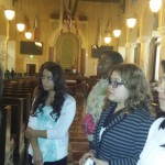 Students Learn about Council Chambers